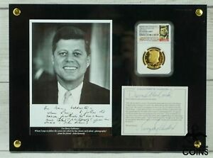 2014-W Gold 50c Kennedy 50th Anniversary High Relief NGC PF70 BARRY GOLDWATER