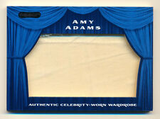 2010 RAZOR AUTHENTIC WORN WARDROBE AMY ADAMS JUMBO WORN COSTUME PATCH RARE!