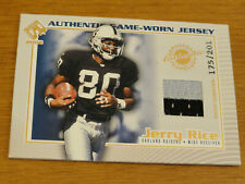 2002 Pacific Private Stock Game Worn Jerseys Patches JERRY RICE #92 175/201