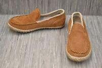 SOREL Sorel Dude Moc Slippers, Men's Size 8, Elk