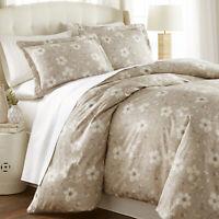 Luxury 100-percent Cotton Mystic Garden Printed Duvet Cover Set