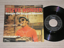 "STEVIE WONDER - BOOGIE ON REGGAE WOMAN  - 45 GIRI 7"" GERMANY"