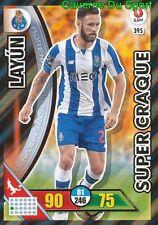395 MIGUEL LAYUN MEXICO FC.PORTO SUPER CRAQUE CARD ADRENALYN LIGA 2017 PANINI