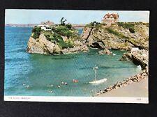 Vintage RPPC: Cornwall: #T63: The Island, Newquay
