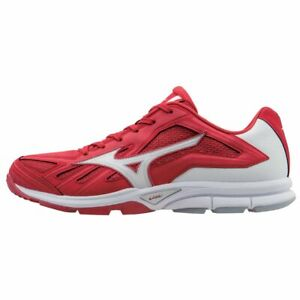New Men's Mizuno Players Trainer Turf Baseball Shoes Size US 13 Blue Red 320502
