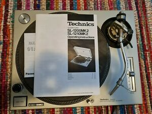 technics SL-1200MK2 Sehr guter Zustand, wenig Laufzeit, Ortofon Pro S