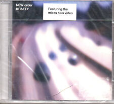 """NEW ORDER """"KRAFTY"""" UK CD MAXI WITH VIDEO TRACK / ELECTRONIC MUSIC - JOY DIVISION"""