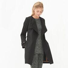 Women's Sandro Malena Trench Coat, Large (40)