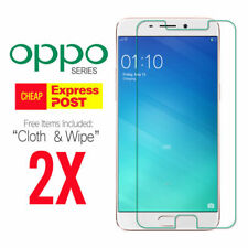 2X Tempered Glass Screen Protector for OPPO A57 A73 R11S Plus AX5 AX5S AX7 A3S