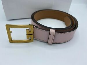 GIVENCHY PINK LADIES LEATHER BELT SIZE 28 NEW RRP £310