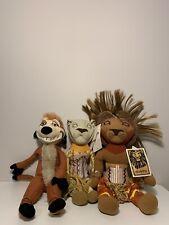 THE LION KING PLUSH DOLL BROADWAY MUSICAL SET 3 SIMBA¤TIMON¤NALA¤