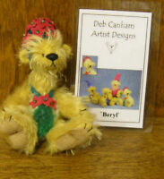 """DEB CANHAM Artist Designs BERYL Bad Hair Day Coll. 3.75"""" NEW From Retail Store"""