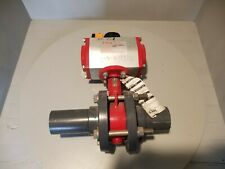 Bray Pneumatic Actuator Resilient Butterfly Valve, 3