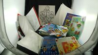 Windowcolor Folie Bücher Malvorlagen Konvolut Basteln Malen Ba408