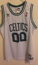 Robert Parish Boston Celtics NBA Jersey Adidas Hwc Sewn Men L Soul Vtg #00 Bird