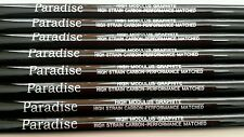 8 REGULAR+ / FIRM FLEX GRAPHITE IRON SHAFTS 370 Parallel Paradise 79g by Aldila