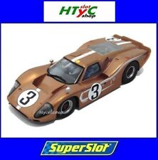 SUPERSLOT FORD GT MKIV #3 24 HS LE MANS 1967 ANDRETTI / BIANCHI SCALEXTRIC H3951