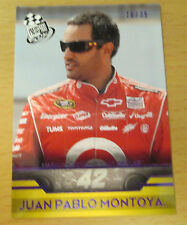 2012 PRESS PASS NASCAR PURPLE #/35 JUAN PABLO MONTOYA SPRINT CUP TARGET INDY 500