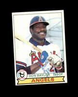 Don Baylor Hand Signed 1979 Topps California Angels Autograph