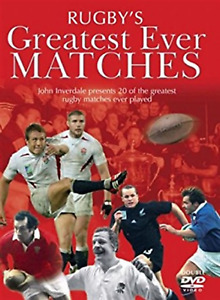 Rugby's Greatest Ever Matches Double DVD Sport USED Original UK Release R2