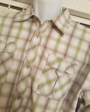 MEXX  LONG SLEEVED MULTICOLOURED CHECKED SHIRT SIZE 2XL