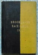 BROOKLANDS RACE PROGRAMMES 1911 x8 Bound Volume Prewar Motor Racing Motor Sport