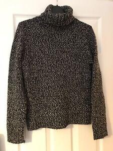 Boden Ladies Black & White Mix Jumper Size 10