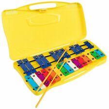Glockenspiel  METALLOFONO Cromatico n 25 Note Colorato Scolastico ANGEL