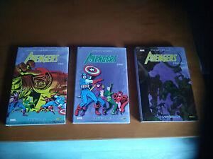Avengers . Intégrale 1963-1964...1965...1966 . Panini . Marvel . Stan Lee .