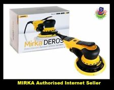 Mirka Robots 650cv Electric Random Orbital Sander 150 mm 5 mm Hub 2+1 Year Warranty