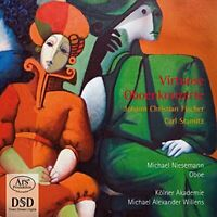 Forgotten Treasures Vol. 7 - Virtuoso Oboe Concertos by Fische -Stamitz [CD]