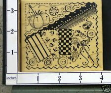 PSX Sewing Quilting Needle K-3168  Rubber Stamp New