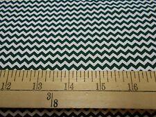 """2 yards  of """"Mini Chevron"""" Hunter Fabric"""