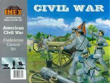 IMEX 780-Adepto Cannon Set-GUERRA CIVILE AMERICANA 1:32 FIGURE / RIEVOCAZIONE