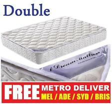 iDream Latex Pillow Top Pocket Spring Mattress Double 99 Dust Mite Resistant