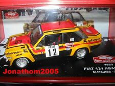 FIAT 131 ABARTH No. 12 MOUNTED CARLO 1980 - M. SHEEP - A. ARRII to the 1/43°