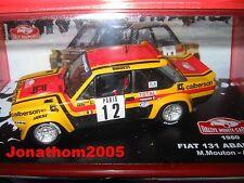 FIAT 131 ABARTH MONTE CARLO 1980 au 1/43°