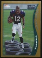 1998 Topps Chrome Marcus Nash RC #126 Denver Broncos