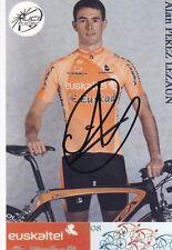 CYCLISME repro PHOTO cycliste ALAN PEREZ LEZAUN équipe EUSKALTEL  signée