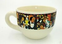 "VTG 2003 Guy Buffet California Pantry Over-sized Coffee Soup Mug 4.5"" x 3.5"""