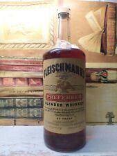 Bourbon whiskey 1964 Fleischmann's 1,13L 45%