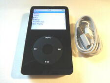 APPLE  iPOD  CLASSIC  5.5 GEN.  BLACK  80GB...WOLFSON CHIP...NEW BATTERY...