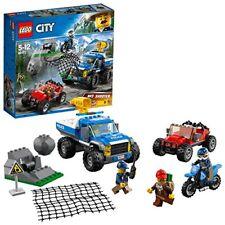 Lego City Course-poursuite sur Schotterpisten