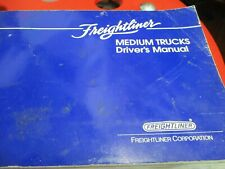 Freightliner Medium Trucks Drivers Operators Manual