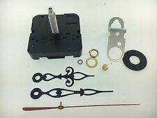 "Takane Quartz Battery Clock Movement Fancy Hands 1 1/4"" Shaft fits 3/4"" Dial USA"