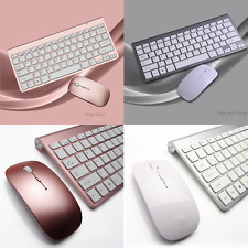 ULTRA-THIN SUIT 2.4GHZ MINI WIRELESS KEYBOARD AND MOUSE COMBO FOR LAPTOP DESKTOP
