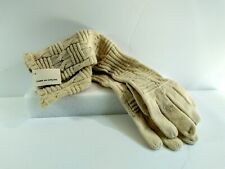 Comme Des Garcons Mainline White Ivory Elbow Length Knitted Opera Gloves