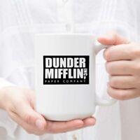 Coffee Mug With Dunder Mifflin World's Best Boss Funny Ceramic Coffee Tea Cocoa