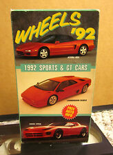 WHEELS sports cars documentary 1992 Lamborghini Diablo & Dodge Viper VHS