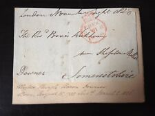 2nd BARON DOWNES - BRITISH ARMY OFFICER - PENINSULAR WAR - SIGNED ENVELOPE FRONT